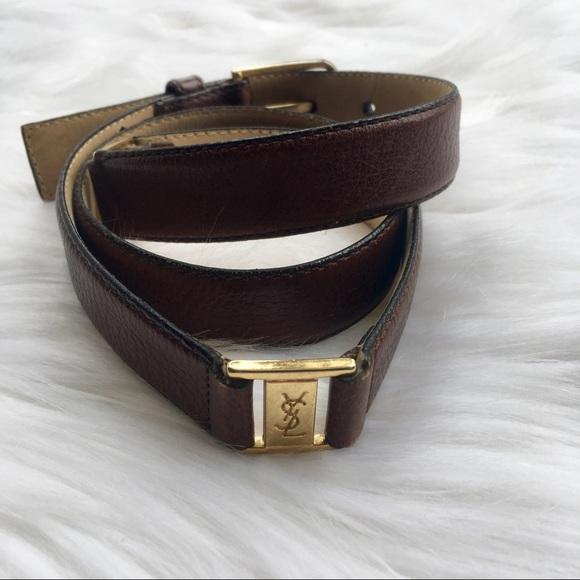 a5e924e0442d Yves saint laurent accessories vintage belt unisex jpg 580x580 Gray ysl belt